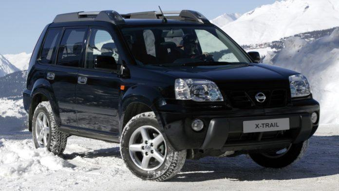 Nissan X Trail: замена антифриза
