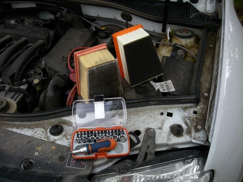 Рено Дастер: замена воздушного фильтра