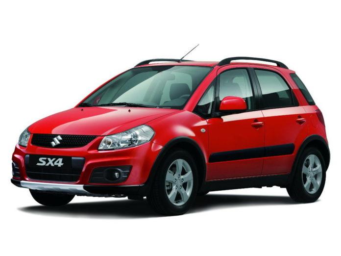Suzuki SX4: замена антифриза