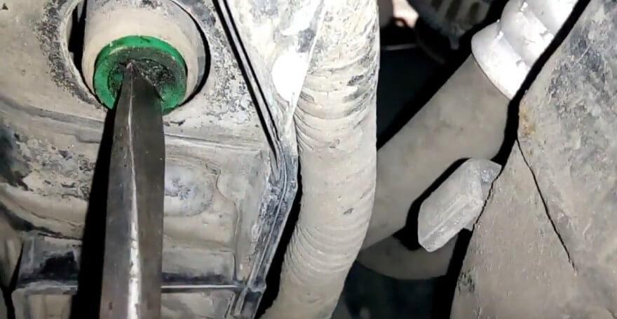 Замена антифриза на Hyundai Santa Fe