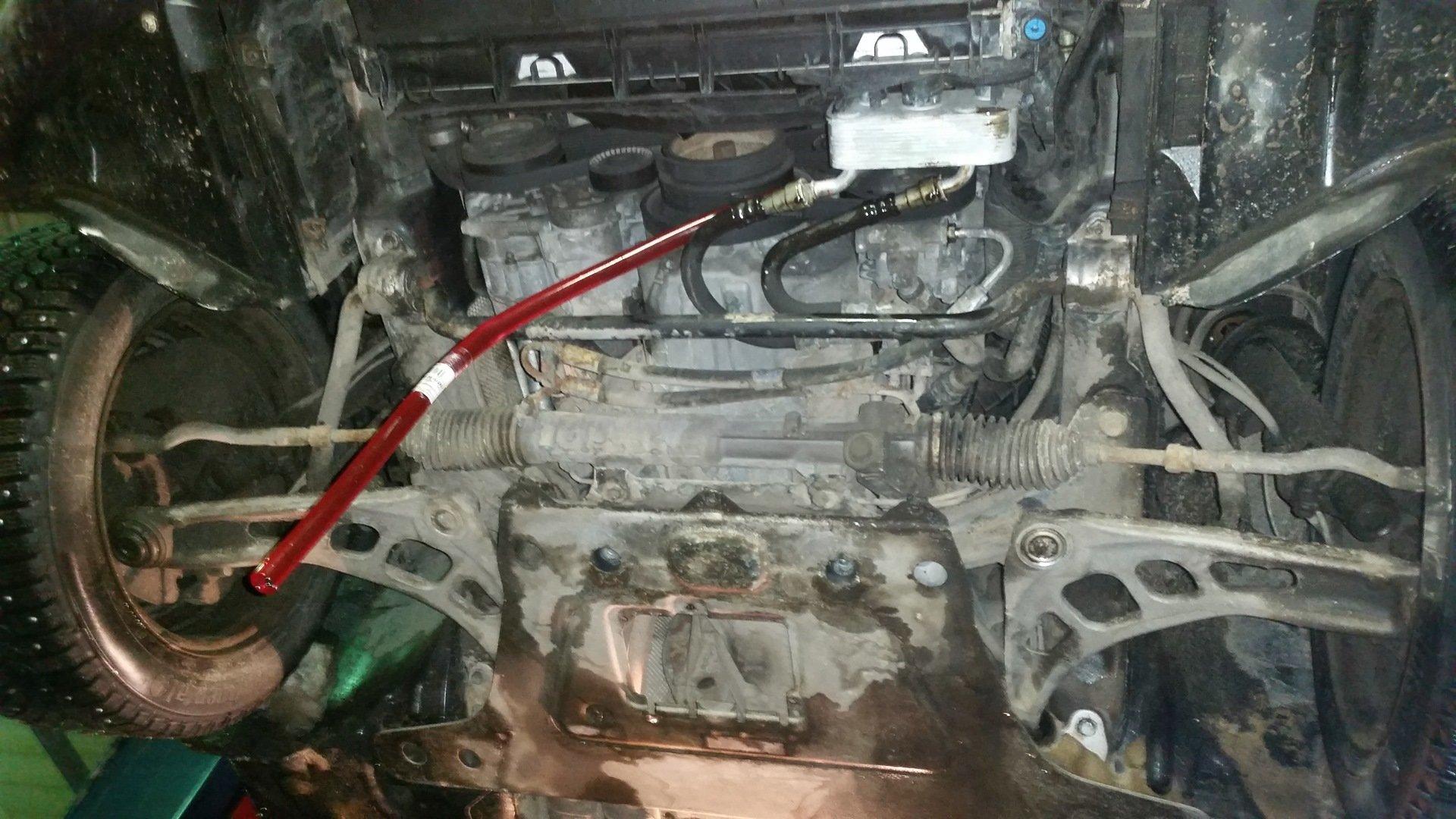 Замена масла в АКПП на БМВ E39