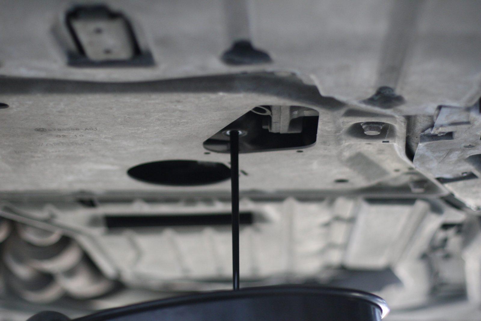 Замена масла в АКПП на БМВ X6 E71