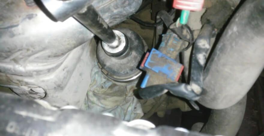 Замена масла в двигателе Ситроен C4