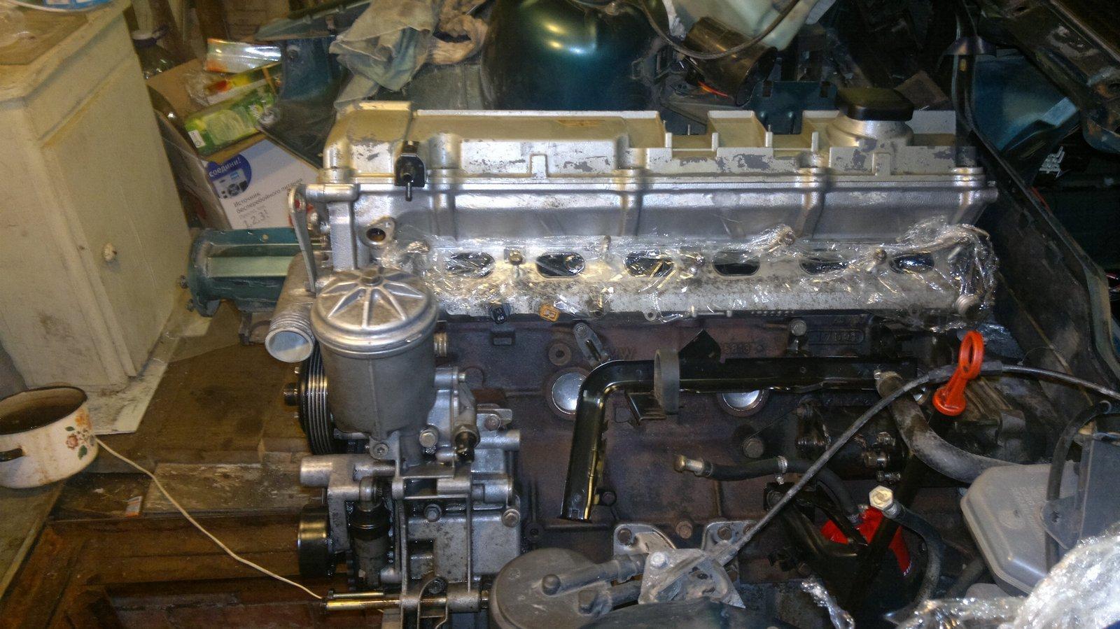 Замена масляного фильтра на БМВ 318