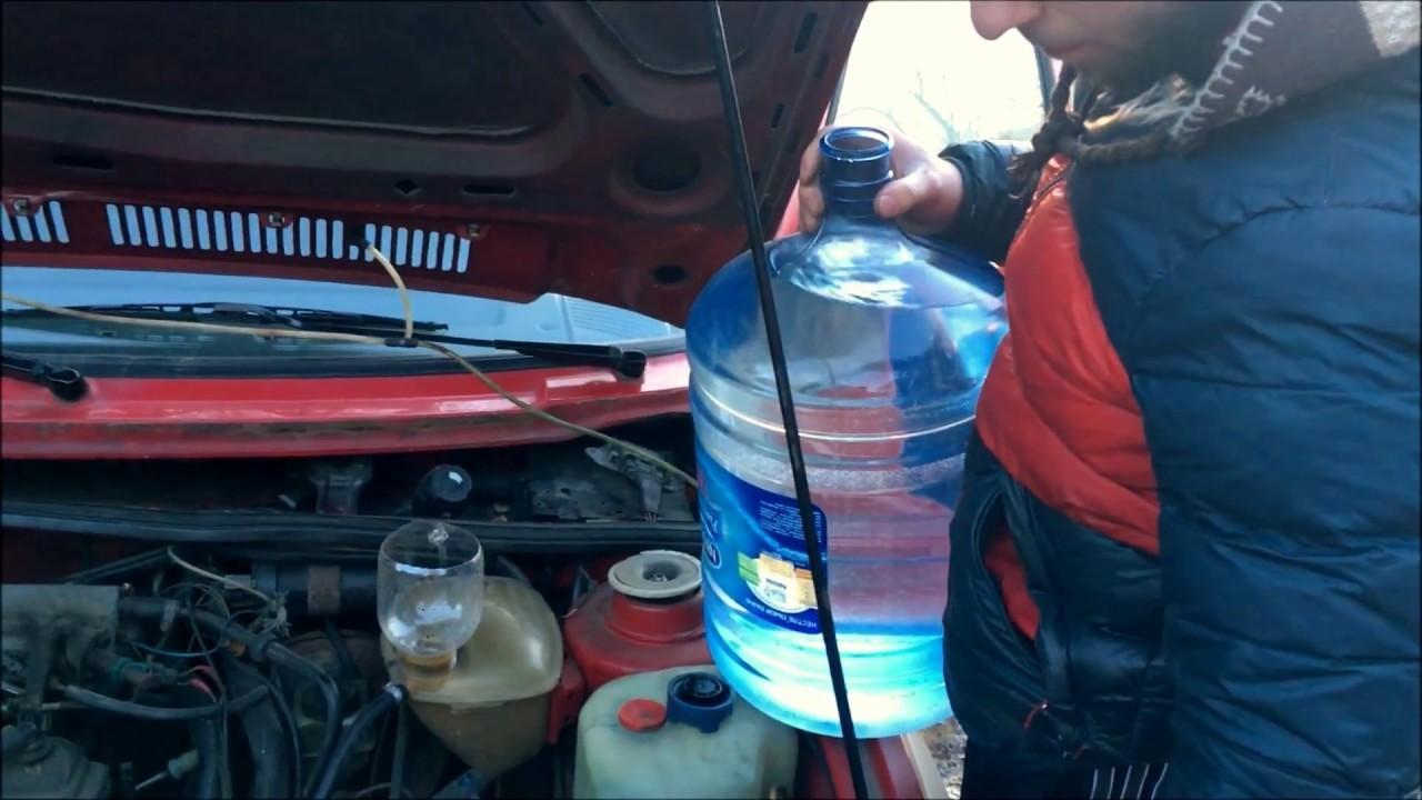 Замена охлаждающей жидкости на Фольксвагене Гольф 6