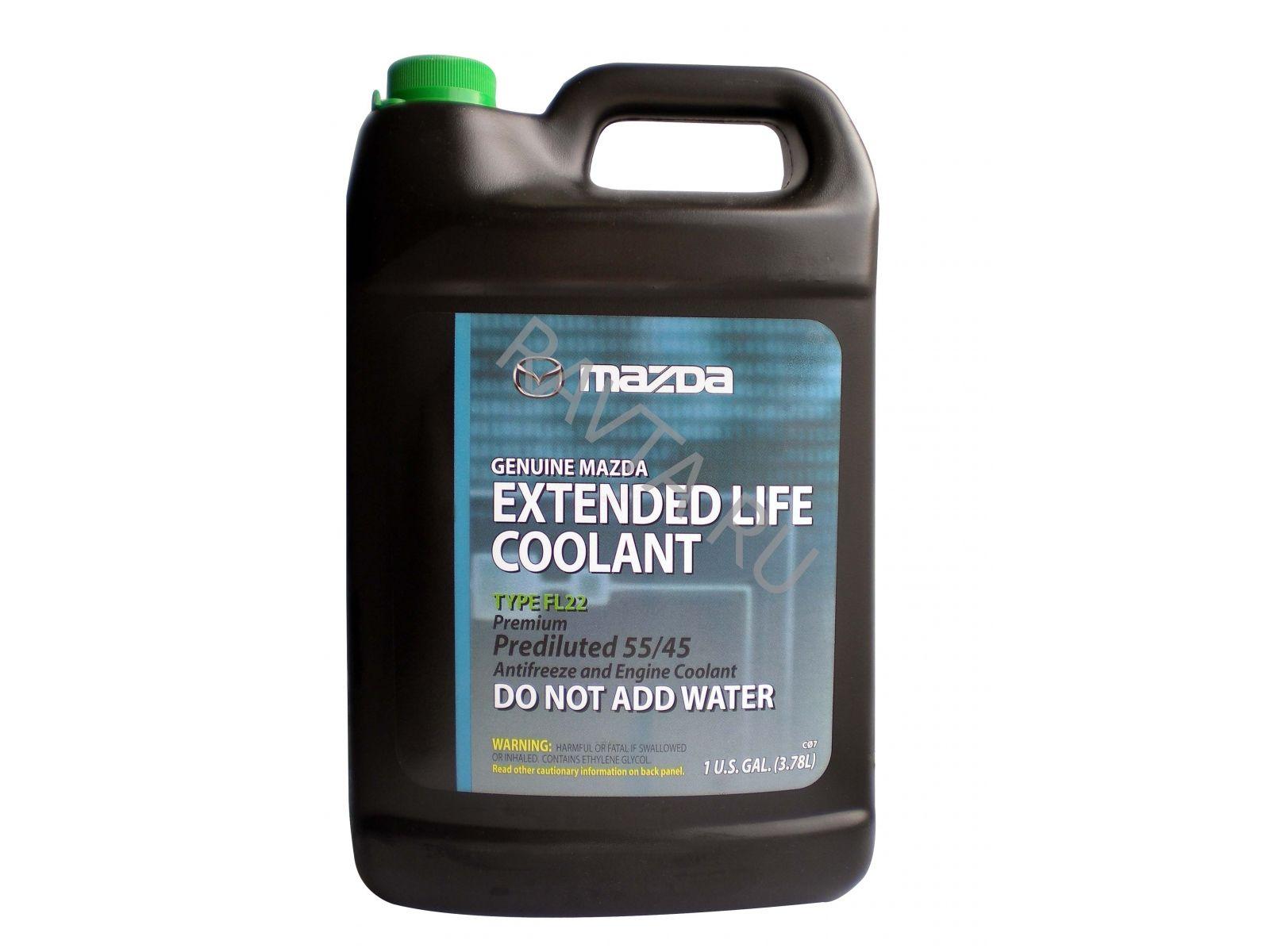 Замена охлаждающей жидкости в Мазде 3