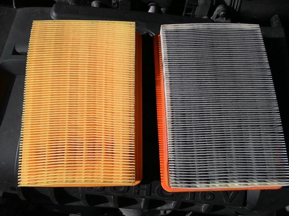 Замена воздушного фильтра Hyundai Elantra