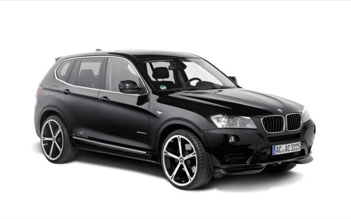 Замена воздушного фильтра на BMW X3 F25