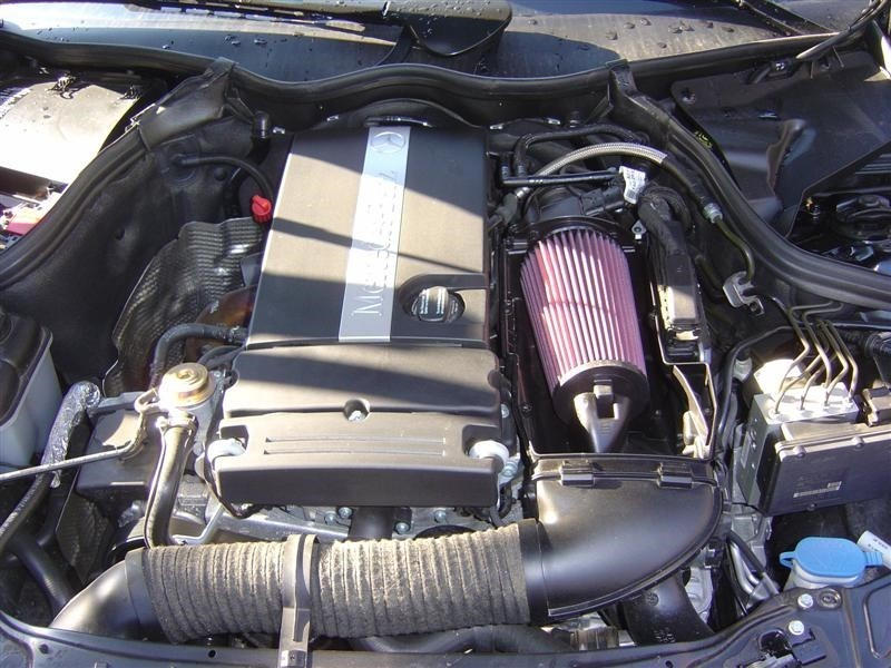 Замена воздушного фильтра на Мерседесе W210